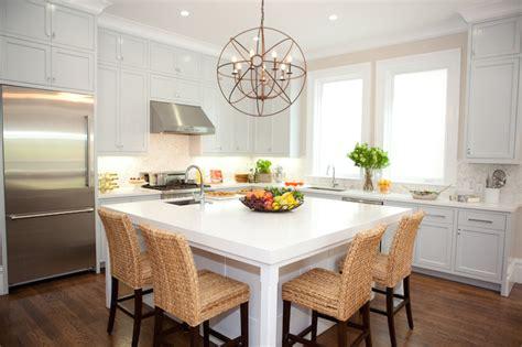 square kitchen island top 5 kitchen island styles tolet insider