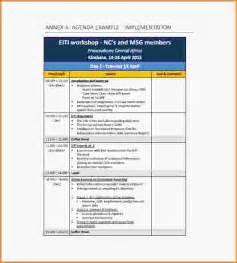training agenda template customer service training agenda