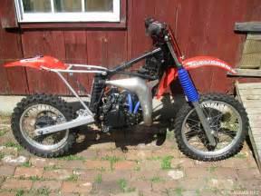 Honda Cr80 1984 Honda Cr80 Bike Showcase Vintagemx Net