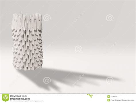 Objects With Paper - paper object stock images image 32786644