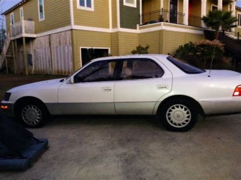 how to fix cars 1991 lexus es parental controls buy used 1991 lexus ls400 base sedan 4 door 4 0l in ocean springs mississippi united states