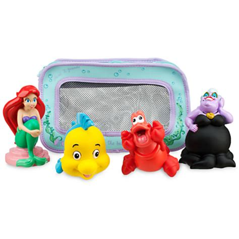 ariel bathtub toy ariel princess the little mermaid bath toys flounder
