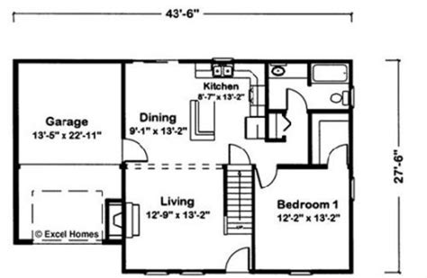 draw floor plans in excel ultima by excel modular homes cape cod floorplan
