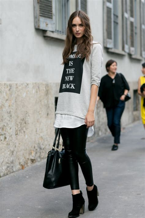 casual model girl the 50 best model off duty outfits of 2014 stylecaster