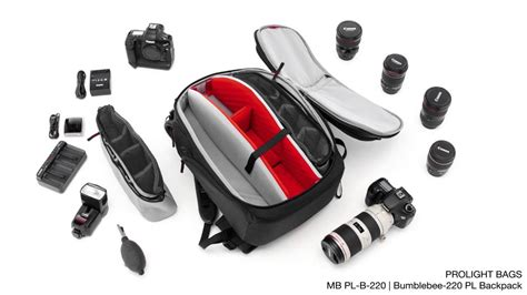 Tas Kamera Bag Kata Bumblebee Pl 220 Backpack manfrotto pro light bags bumblebee 220 pl backpack mb pl b