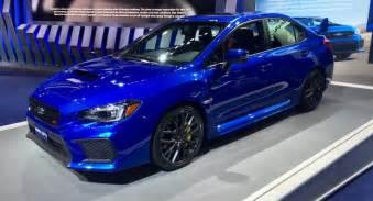 Subaru Sti The 2018 Subaru Wrx Sti Is Thankfully More Of The Same