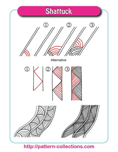 zentangle pattern shattuck 644 best images about art zentangle s on pinterest