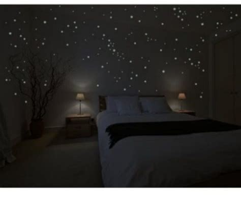 Glow In The Bedroom by Glow In The Stickers Bedroom Stickers Galaxy