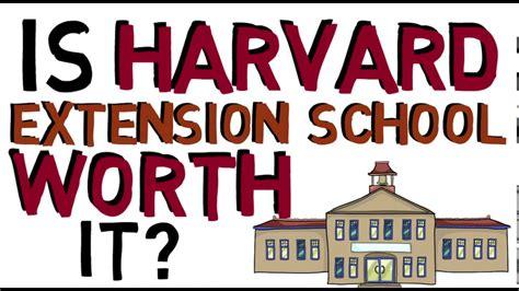 Harvard Extension School Vs Mba by Is Harvard Extension School Worth It What Is Harvard