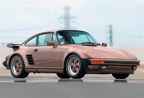 Porsche 911 Turbo 1986 by 1986 Porsche 911 Turbo Flachbau 930 характеристики