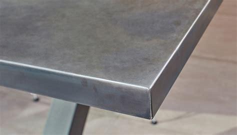 zinc top outdoor table contemporary zinc furniture zinc tables zinc top