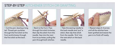 how to do kitchener stitch in knitting knitting tutorials knitting free