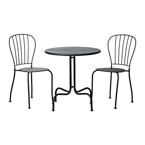 Ikea Bistro Chairs L 196 Ck 214 Table 2 Chairs Outdoor Grey Ikea