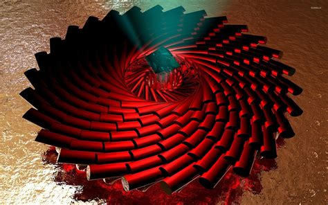 wallpaper 3d red spiraling red pillars wallpaper 3d wallpapers 24536