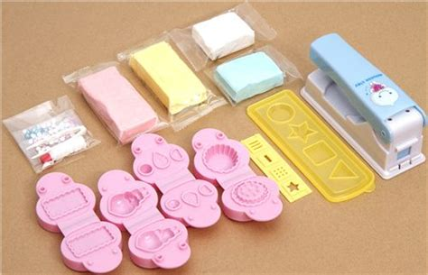 diy paper mousse clay kit glitter cupcakes japan