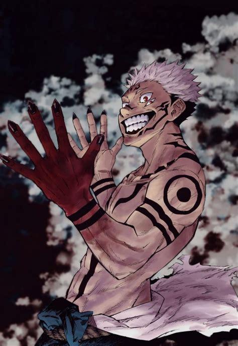 jujutsu kaisen sukuna art wallpaper manga personagens de