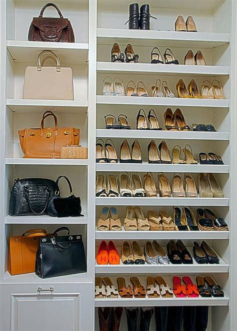 floor to ceiling shoe shelves design ideas