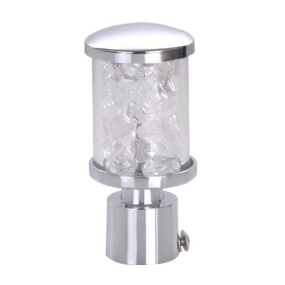 transparent led curtain buy transparent white curtain rod finials at green interio