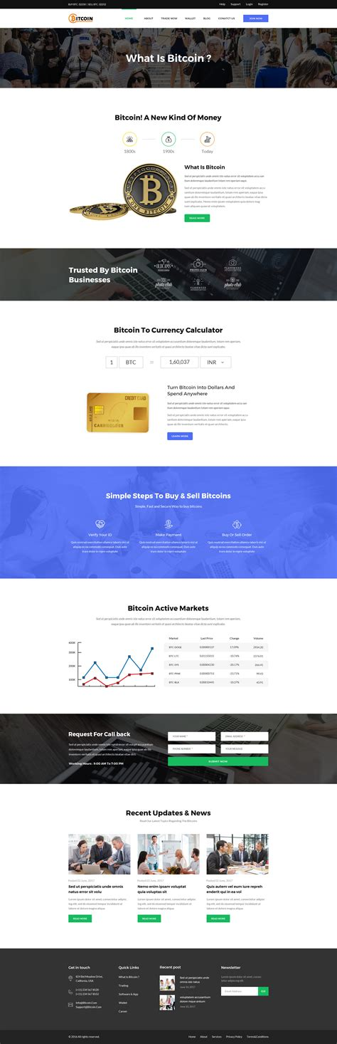 themeforest bitcoin bitcoin psd template by designfalls themeforest