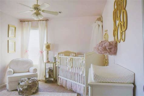 pink and gold baby room s glamorous pink and gold nursery project nursery