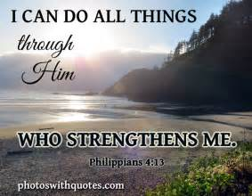 I can do all things - Bible Verse - Image