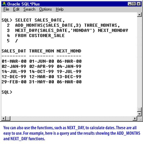 what date format does mysql use date formats and date arithmetic in oracle manipulating