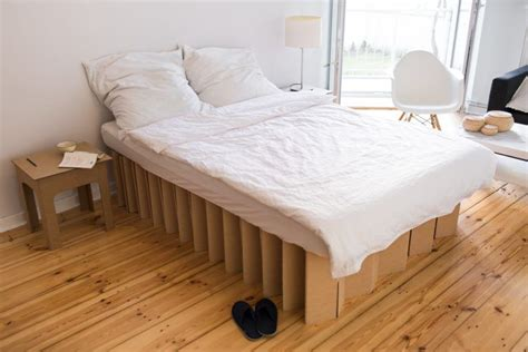 Cardboard Bed Frame 20 Awesome Cardboard Furniture Designs