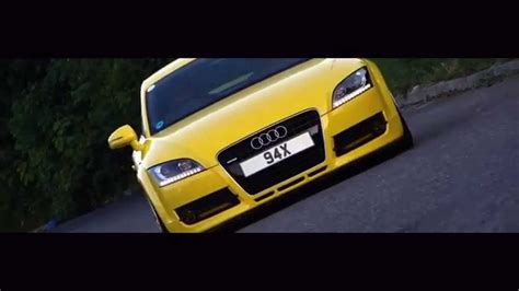 wrapped audi tt bagged and wrapped yellow audi tt