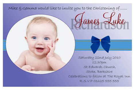 invitation card for baptism of baby boy template baptism invitation baptism invitation card new