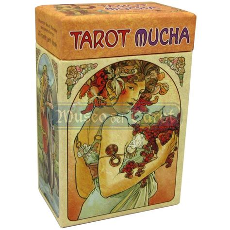 libro tarot of the hidden tarot mucha 78 cartas