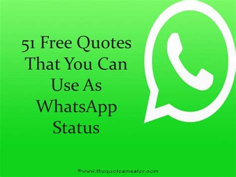 Whatsapp Quotes 51 Free Quotes For Whatsapp Status