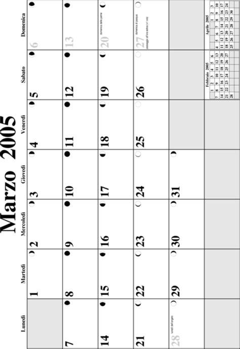 O M Calendario A2 Calendario