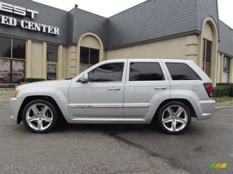jeep silver 2007 bright silver metallic jeep grand srt8 4x4