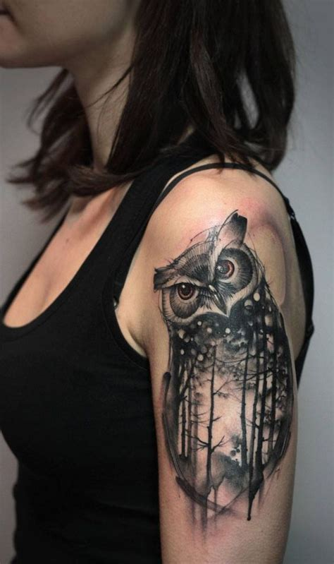 tattoo owl indian 36 best indian owl tattoos for men images on pinterest