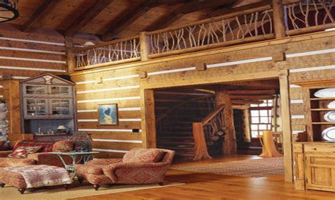 Small Cabin Interior Design Ideas Log Cabin Interior