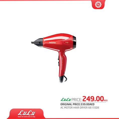 Hair Dryer Di Hypermart babyliss hair dryer 6615 sde offer at lulu hypermarket
