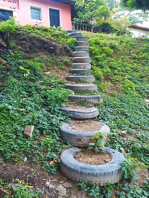 20 Brilliant Ways To Reuse And Recycle Old Tires Bored Tire Garden Ideas