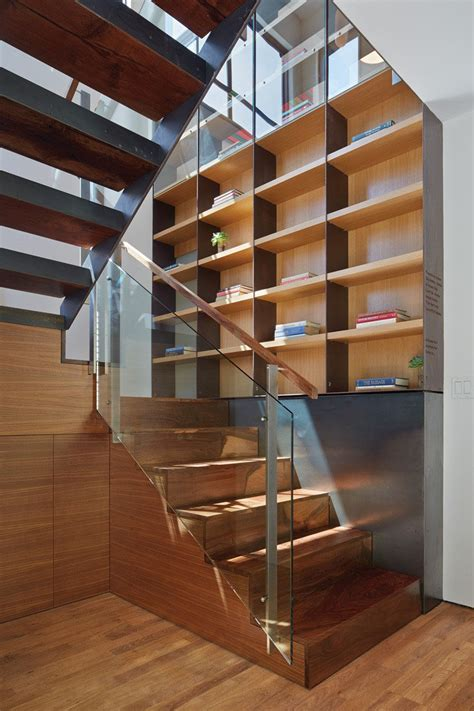 12 inspiring exles of staircases with bookshelves
