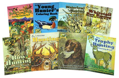 the simi s abcs adventures with hunters books buy all 8 outdoor youth adventures coloring books 39 99