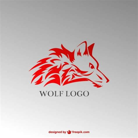 free logo design hd wolf vector logo vector free download