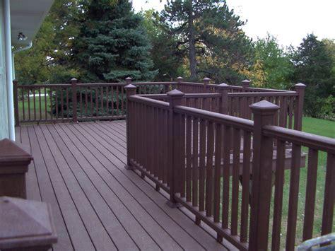 Patio Railing Designs Deck Railing Ideas