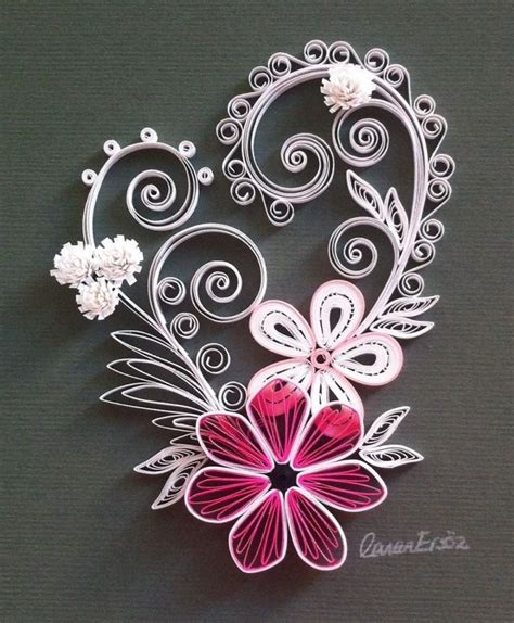 Origami Paper Quilling - 266 best images about quilling on