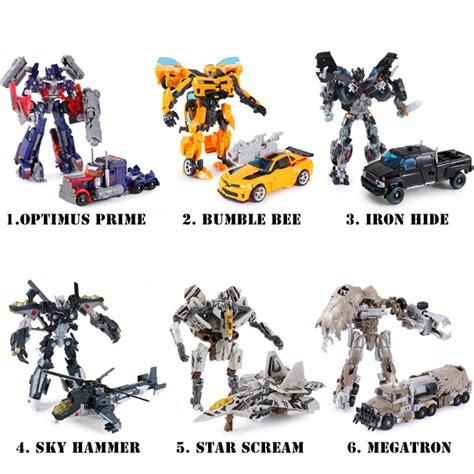 Mainan Rc Autobots mainan anak mobil transformer setelan bayi