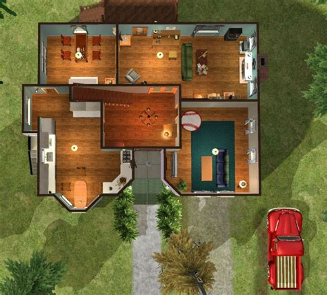 cullen haus grundriss mod the sims twilight bella swan s house