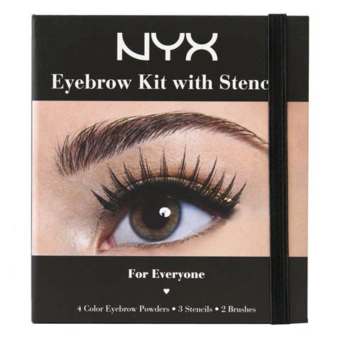 Nyx Makeup Kit nyx eye brow shaper wax eyebrow makeup