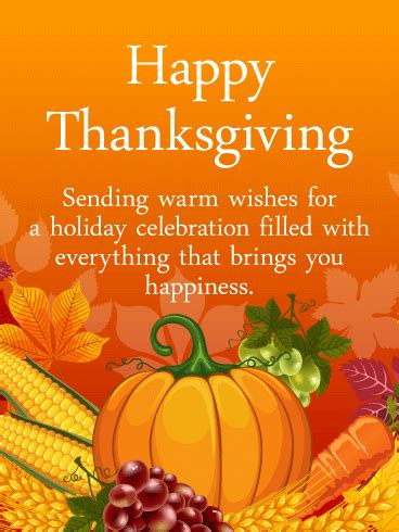 harvest season happy thanksgiving card birthday greeting cards  davia