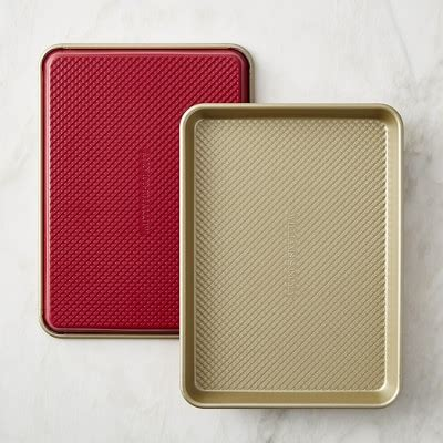 Buy Gift Card Online Pickup In Store - williams sonoma red goldtouch 174 quarter sheet pans set of 2 williams sonoma