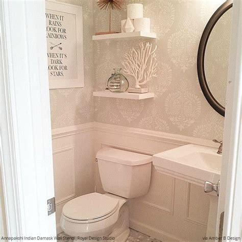 bathroom stencils 237 best images about stencil ideas on pinterest