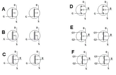 simbol transistor mosfet metal oxide semiconductor fet mosfet