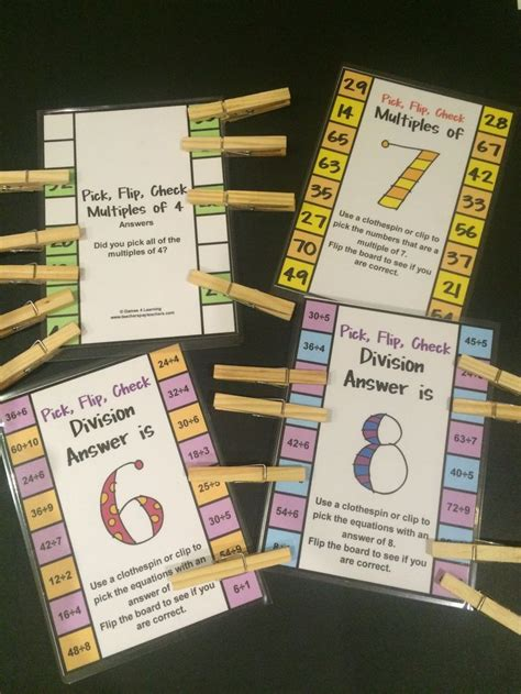 freebies multiples and division clip 17 best images about learning strategies class on